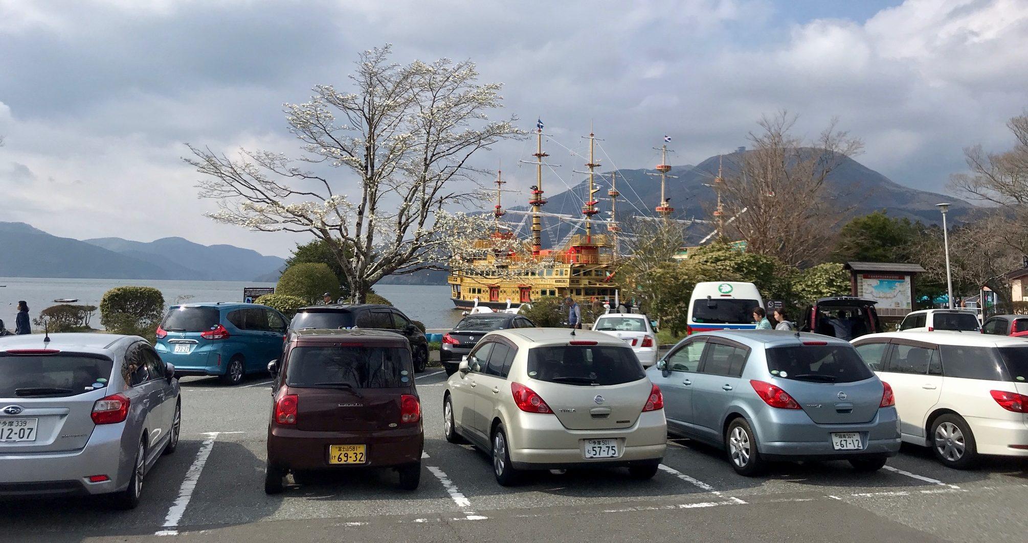 parking-hakone-bay