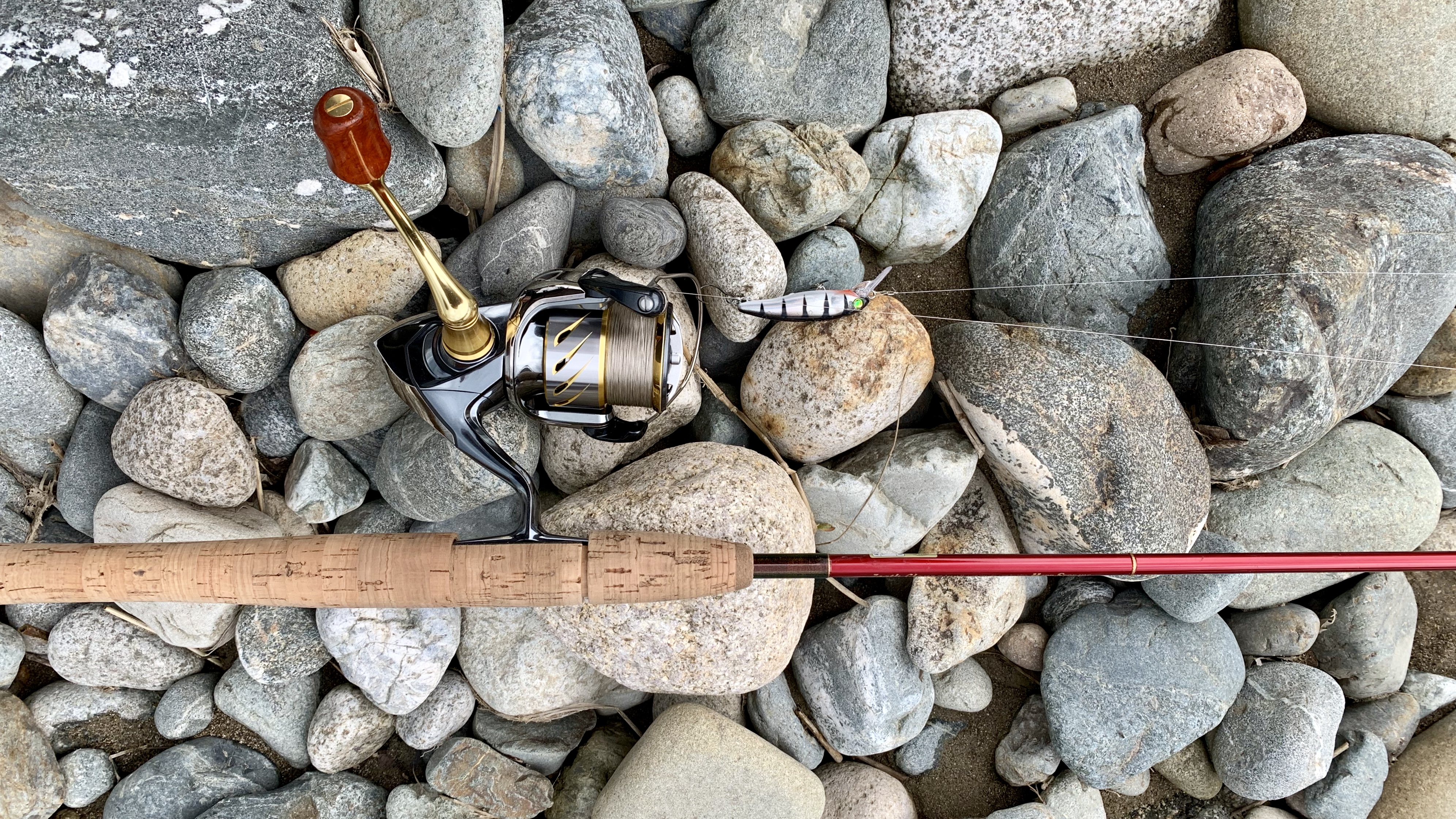 魚野川のタックル