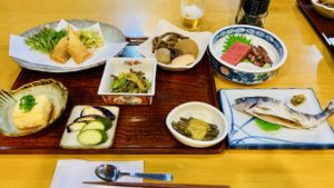 村杉の夕飯