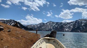 銀山湖赤土ポイント
