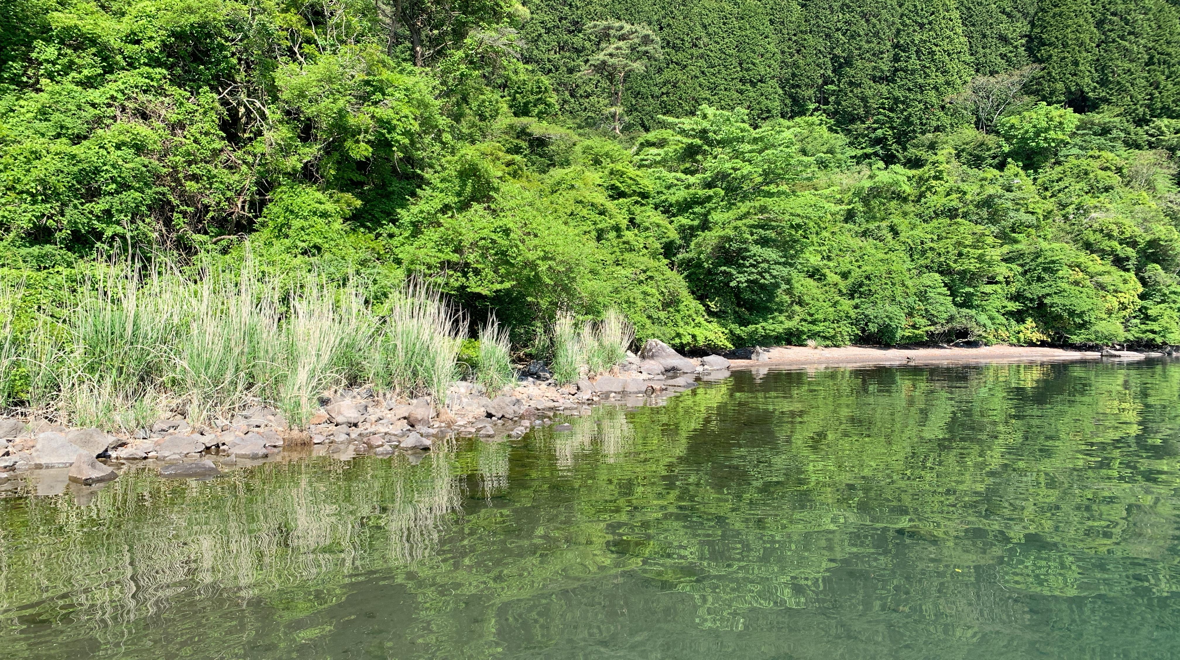 芦ノ湖ポンプ小屋