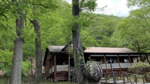 中禅寺湖のユーコン