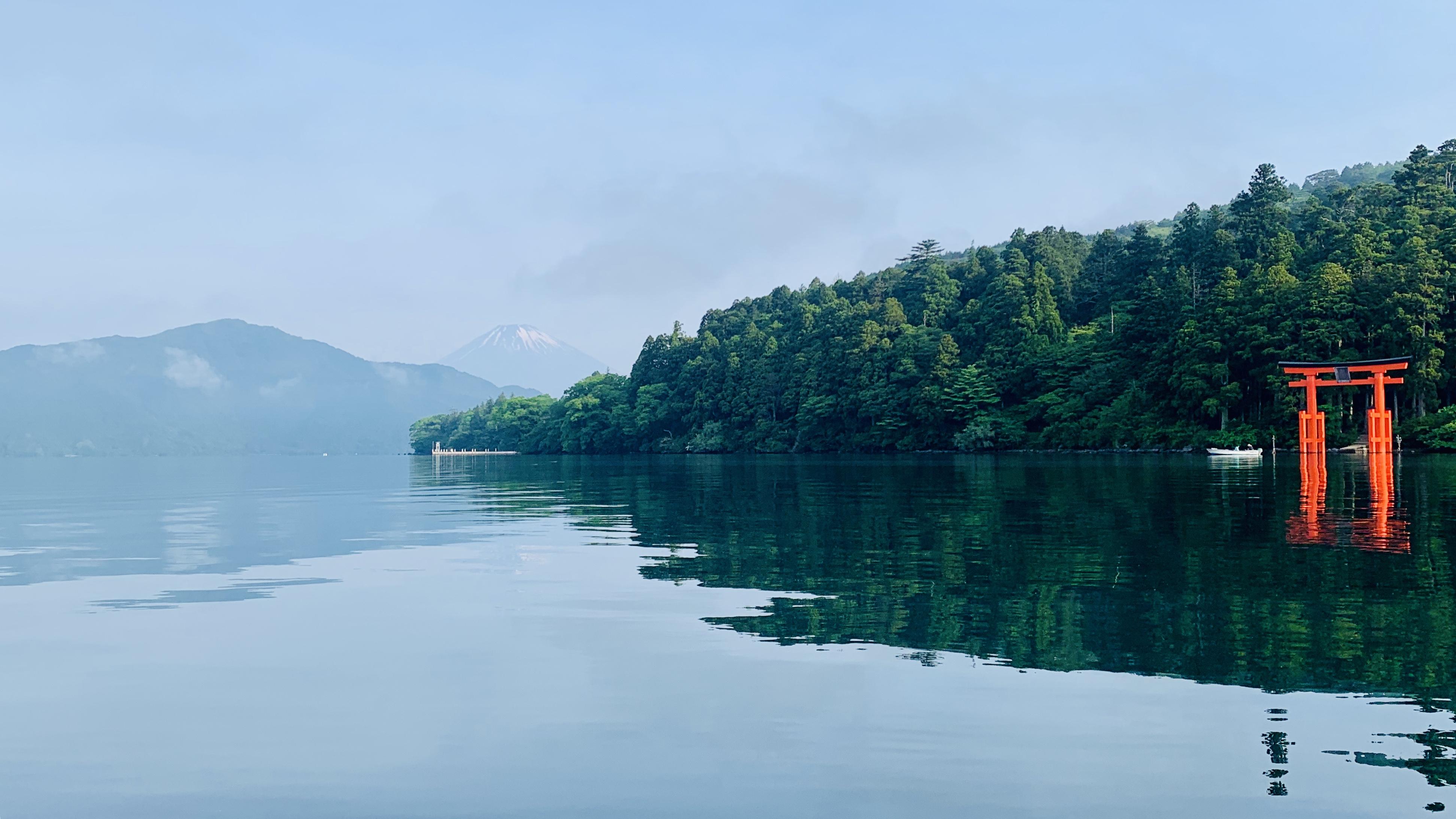 芦ノ湖神社下