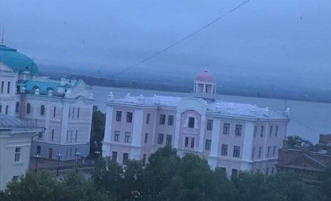 ハバロフスクの街