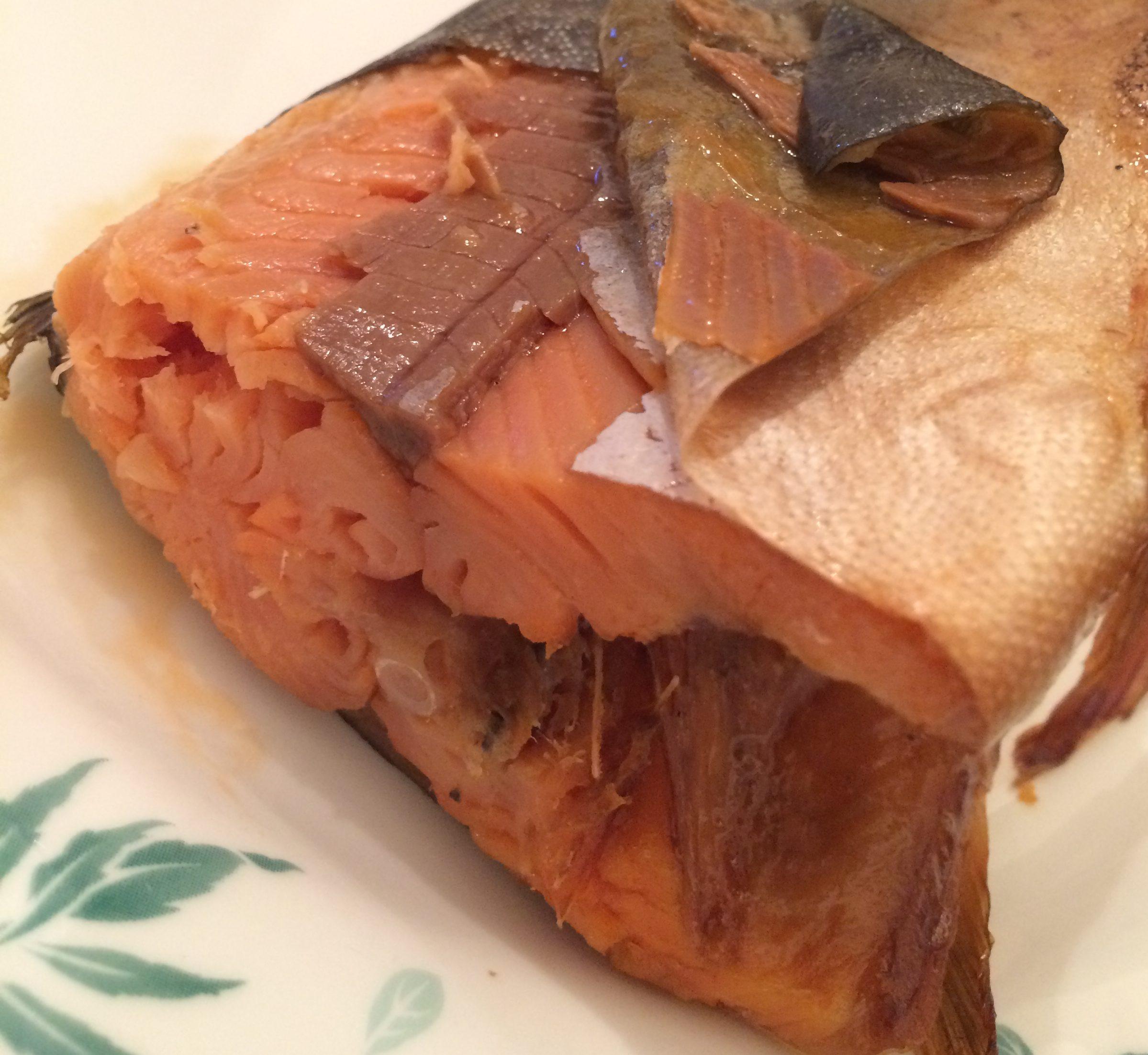 ガリエツの干物を魚焼きグリルで