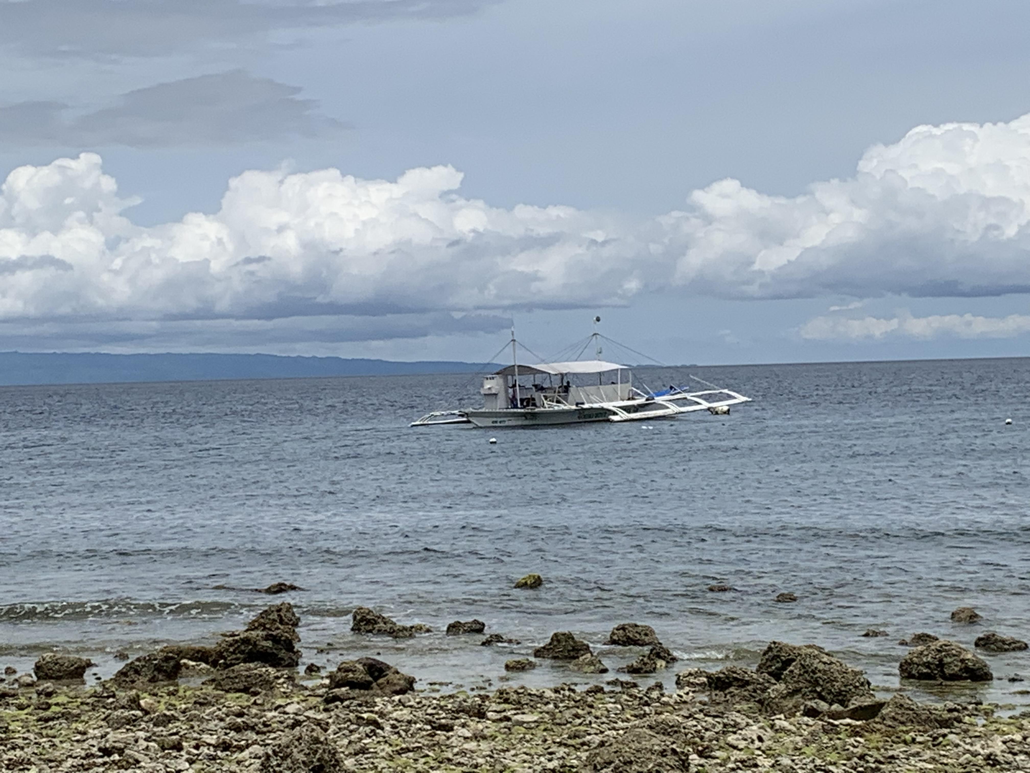 ジンベイまでのボート