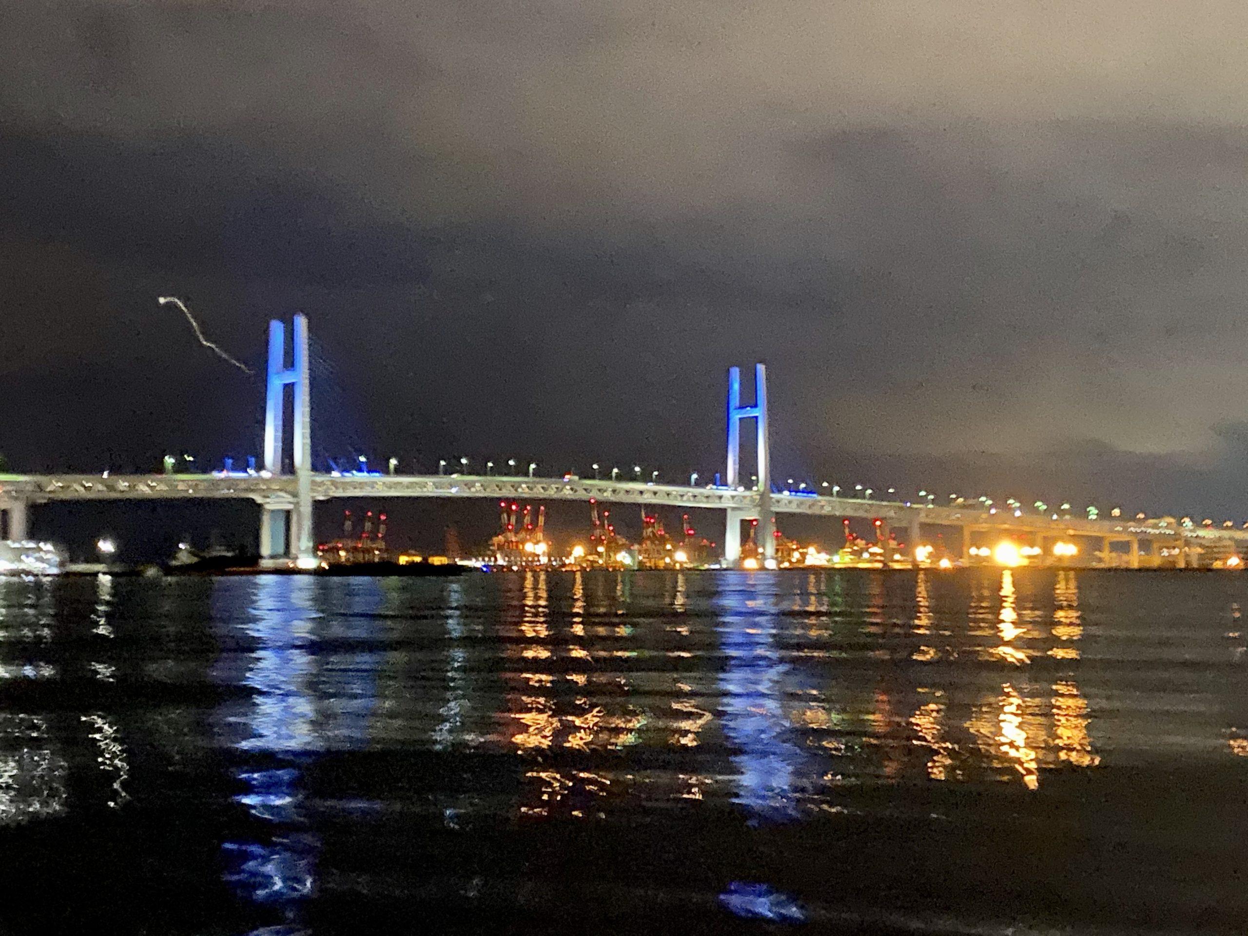 ボートシーバス、横浜の夜景