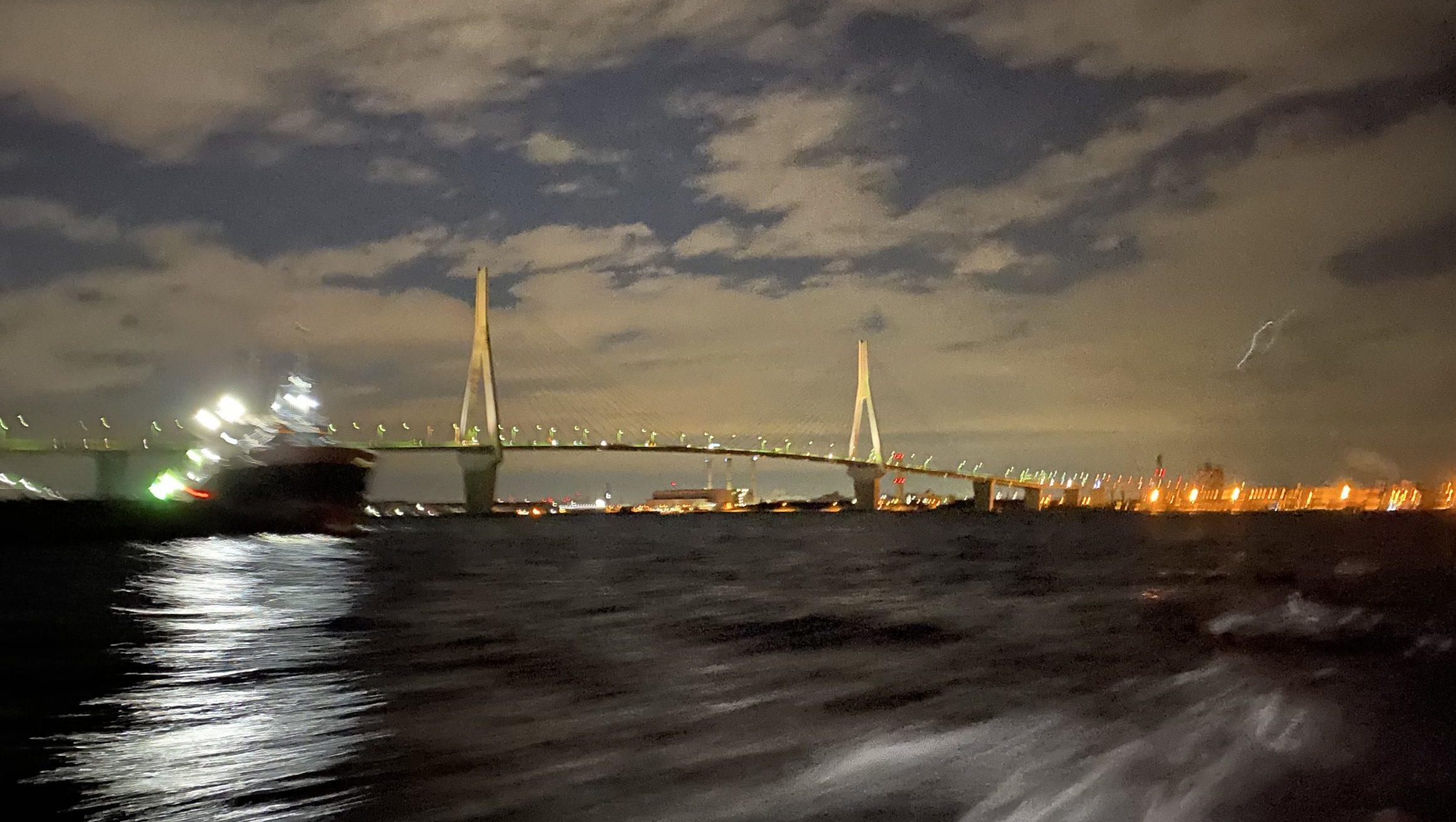 メバル釣り夜景