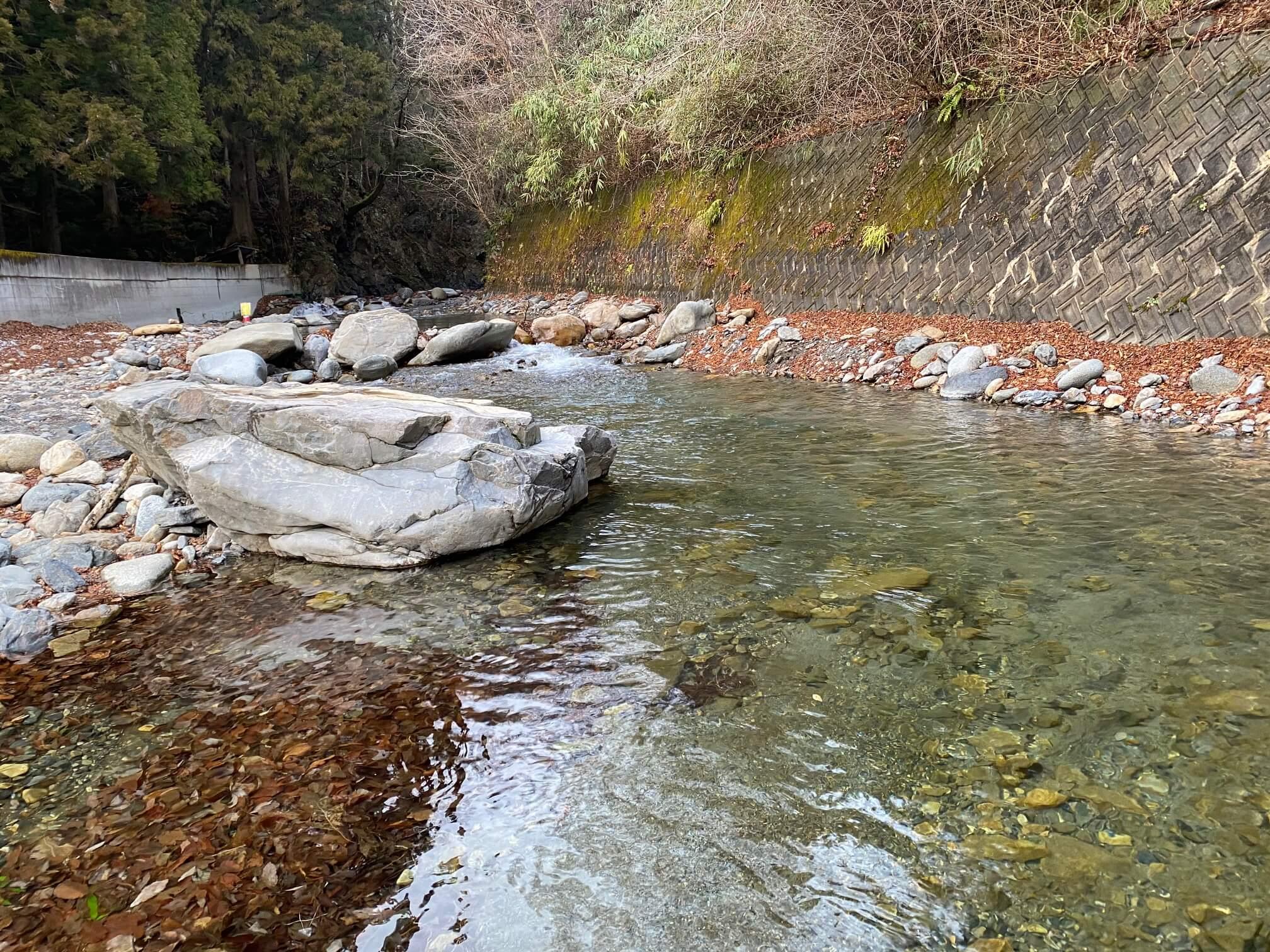 奈良子の川はジンクリア