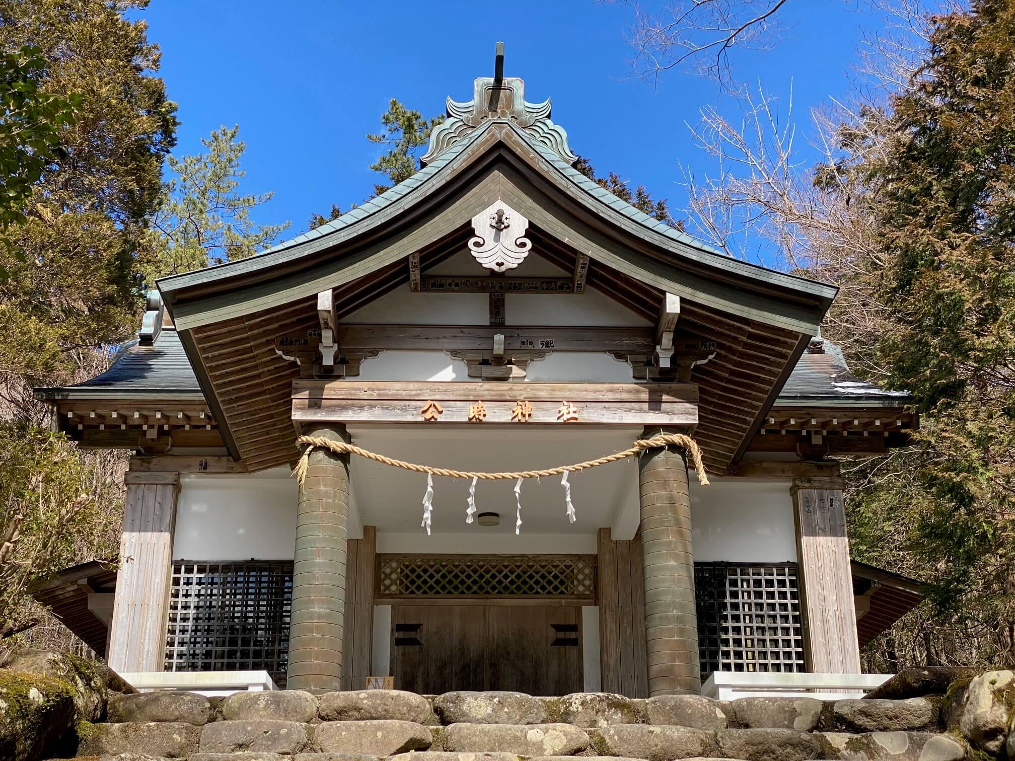 金時神社、公時神社