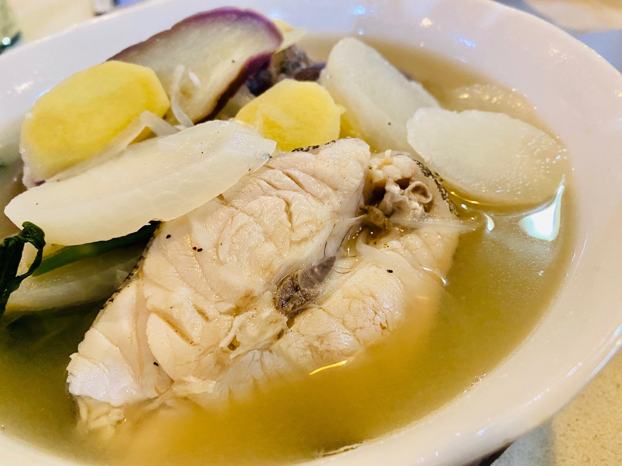 釣った魚のスープ