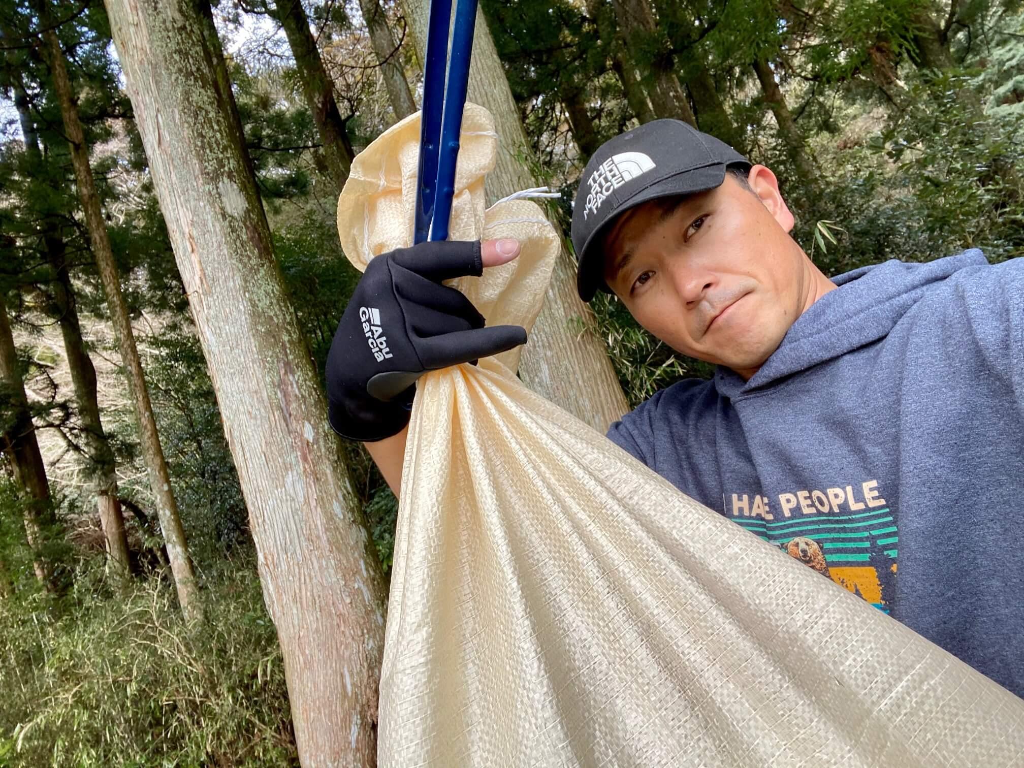 芦ノ湖清掃活動