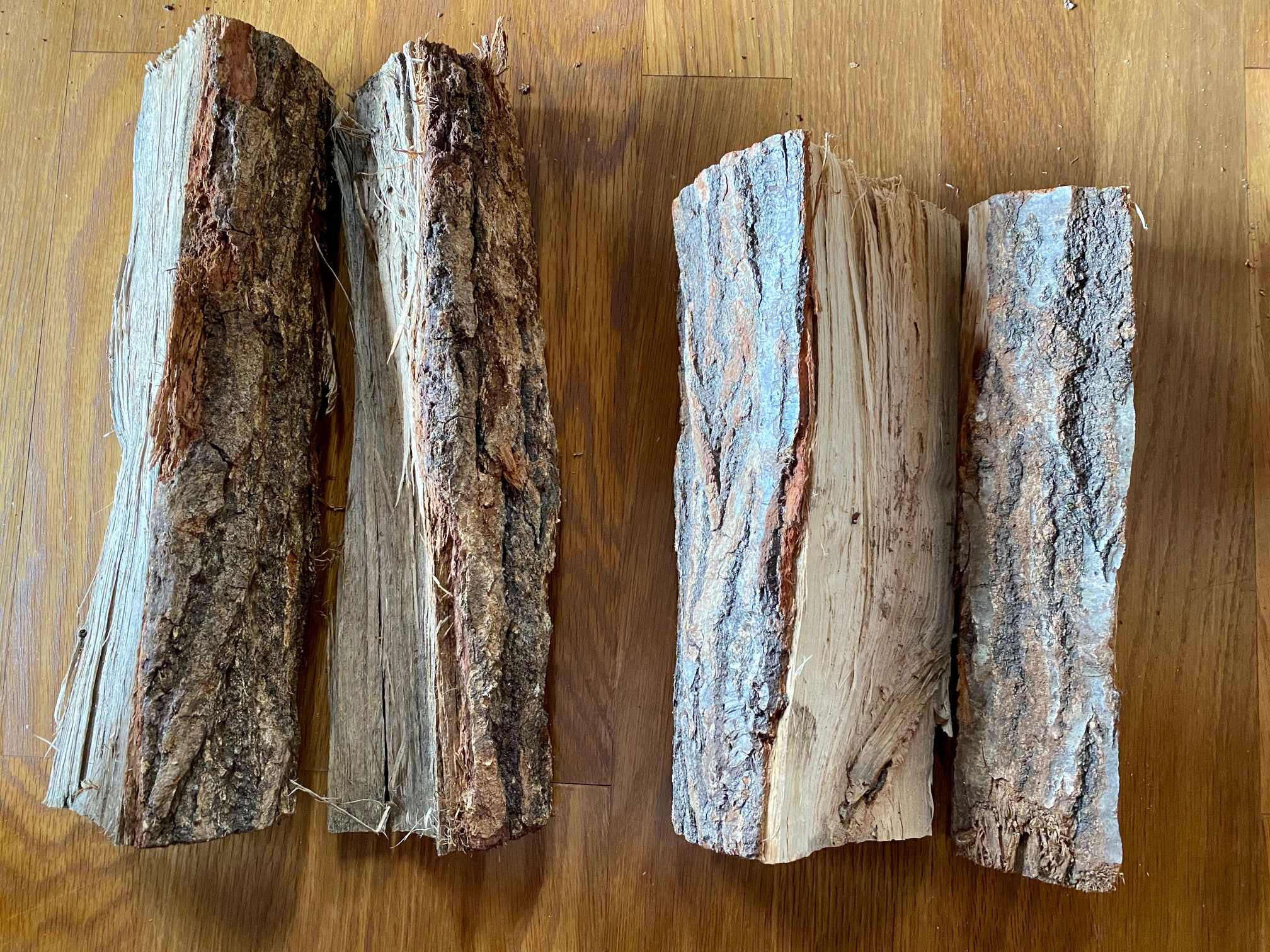 薪のサイズ感