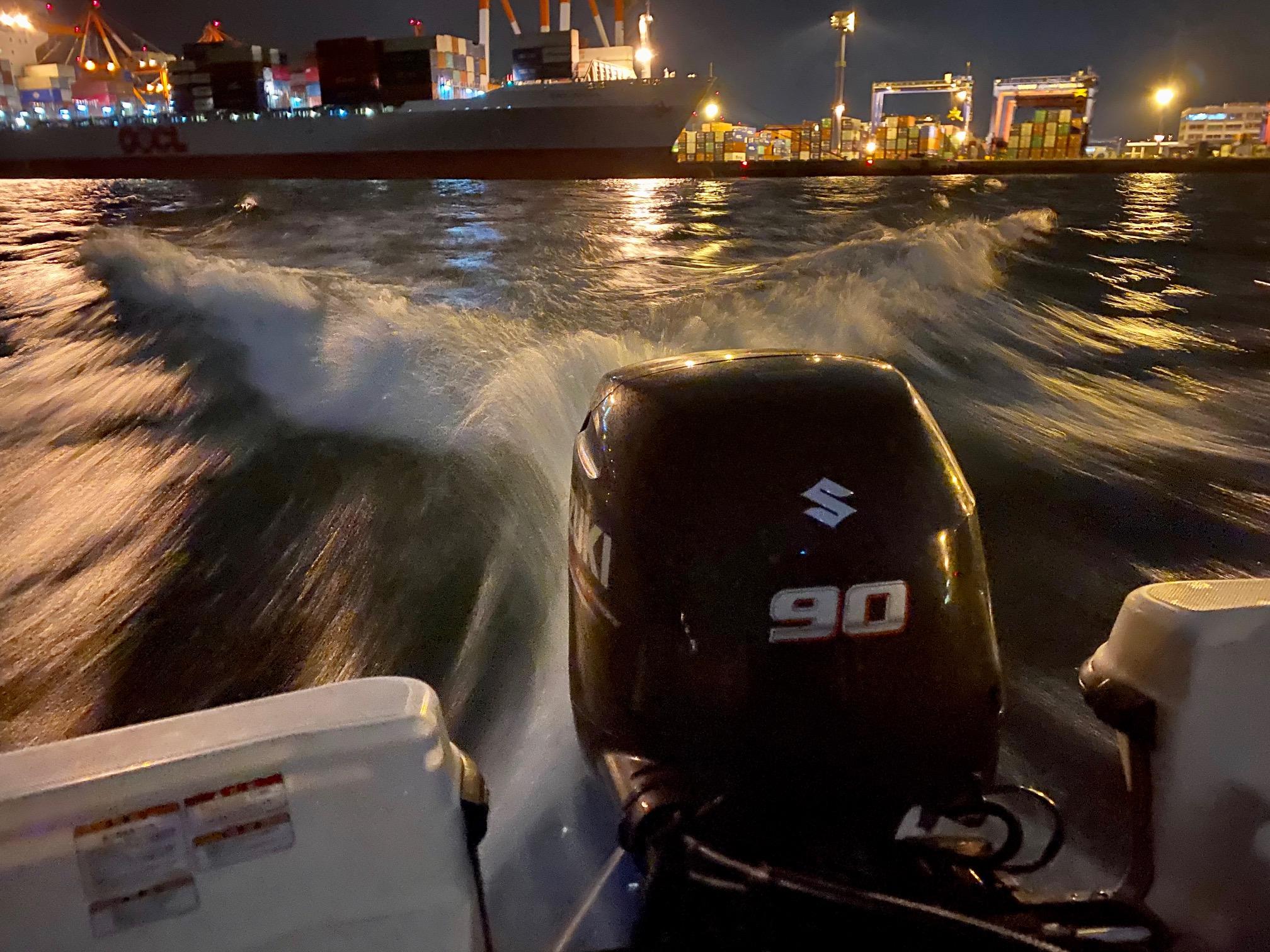 シークロのボート