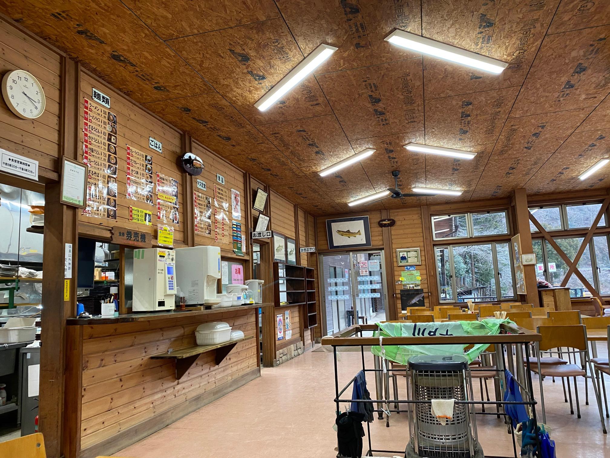 リヴァスポット早戸の食堂