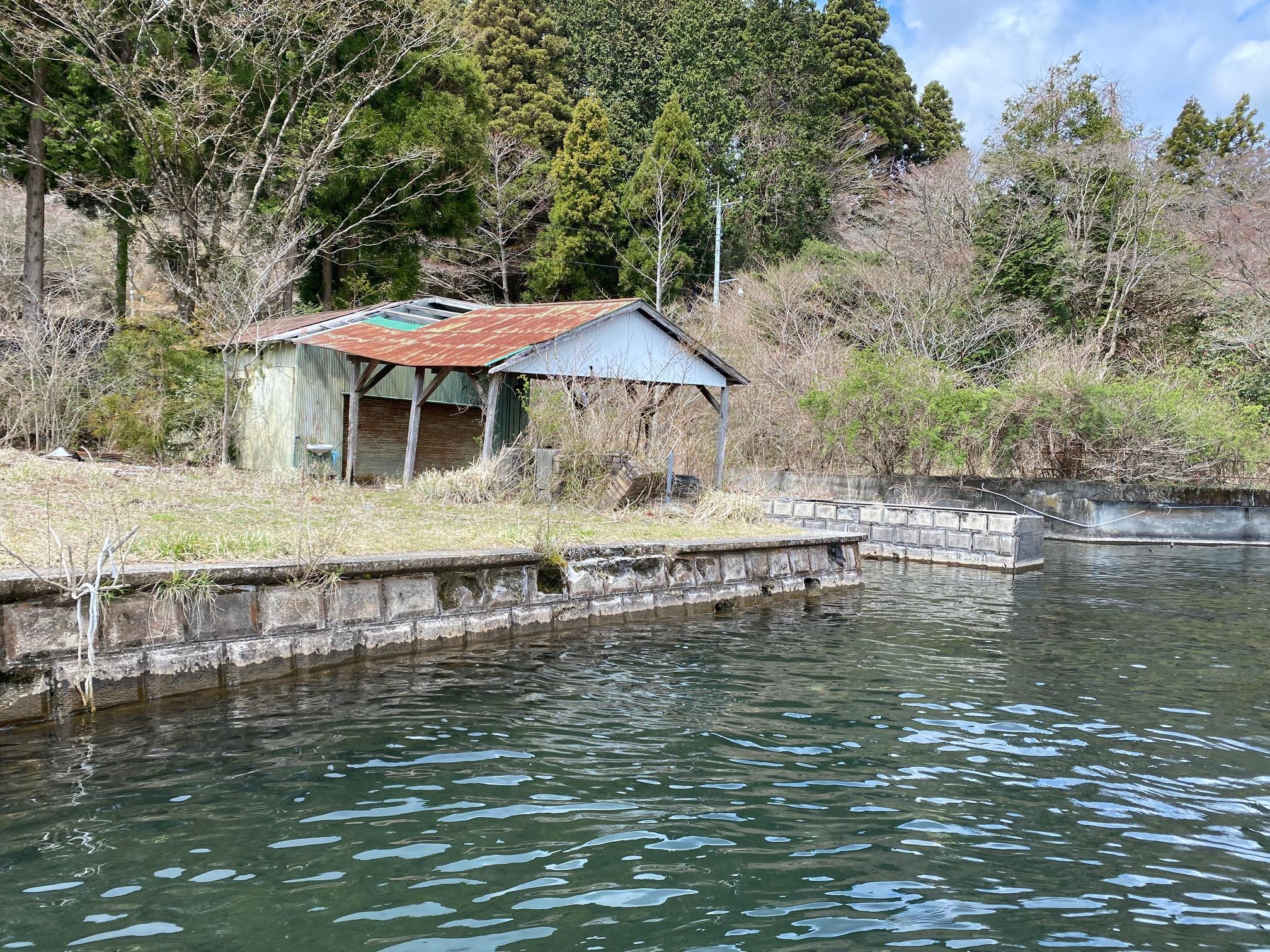 芦ノ湖のポイント
