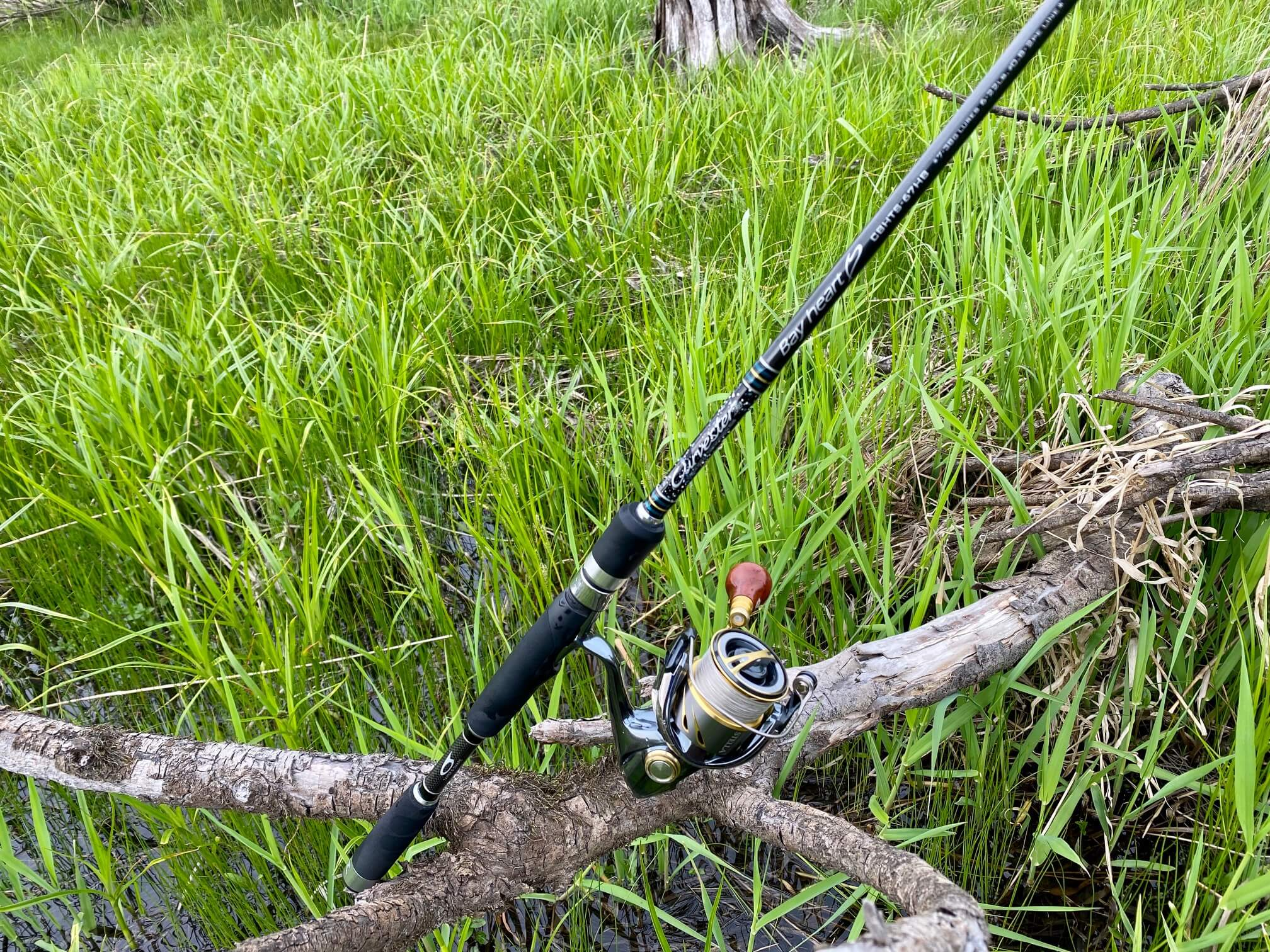 イトウ釣りのタックル