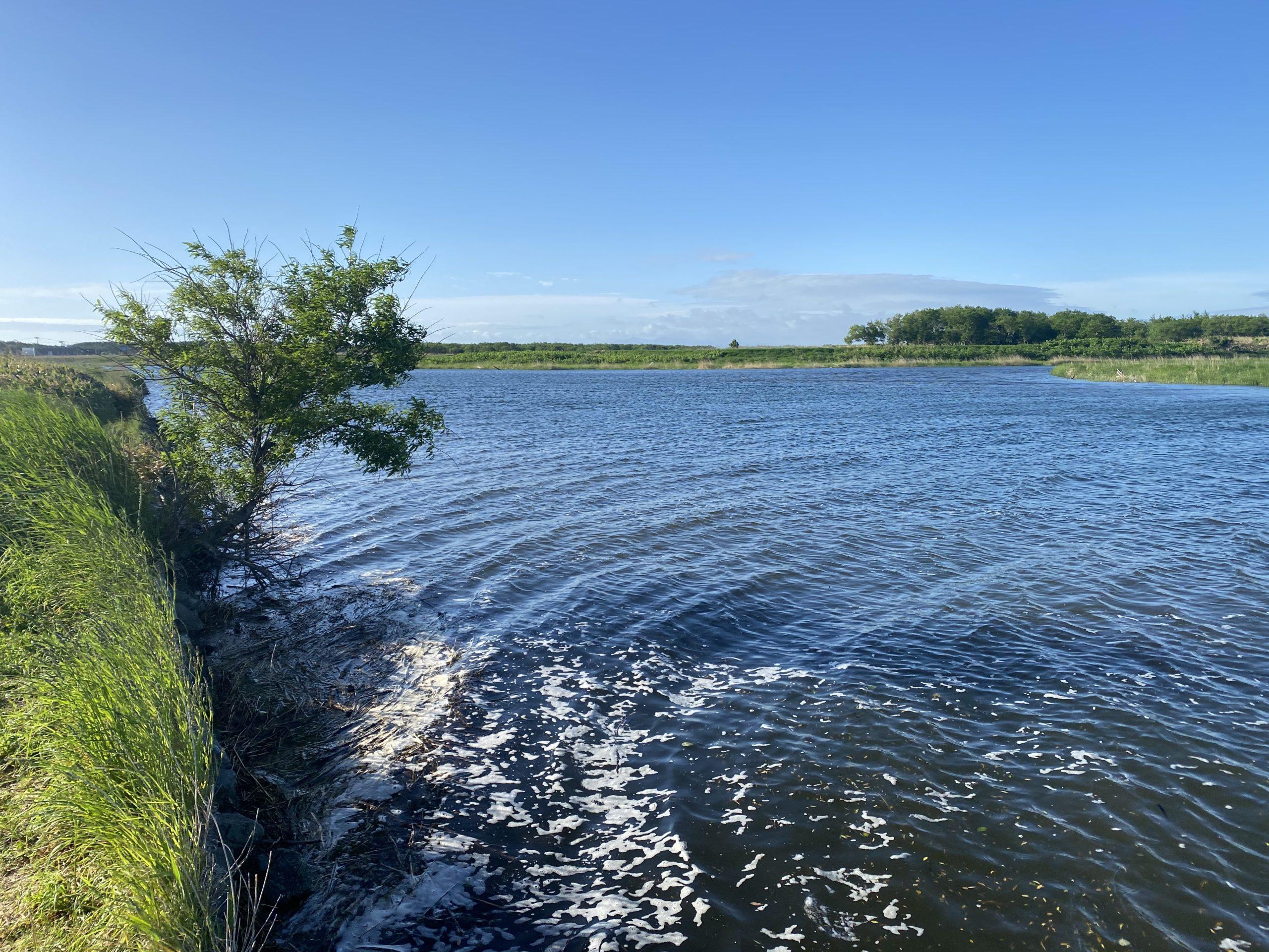 ポロ沼水路