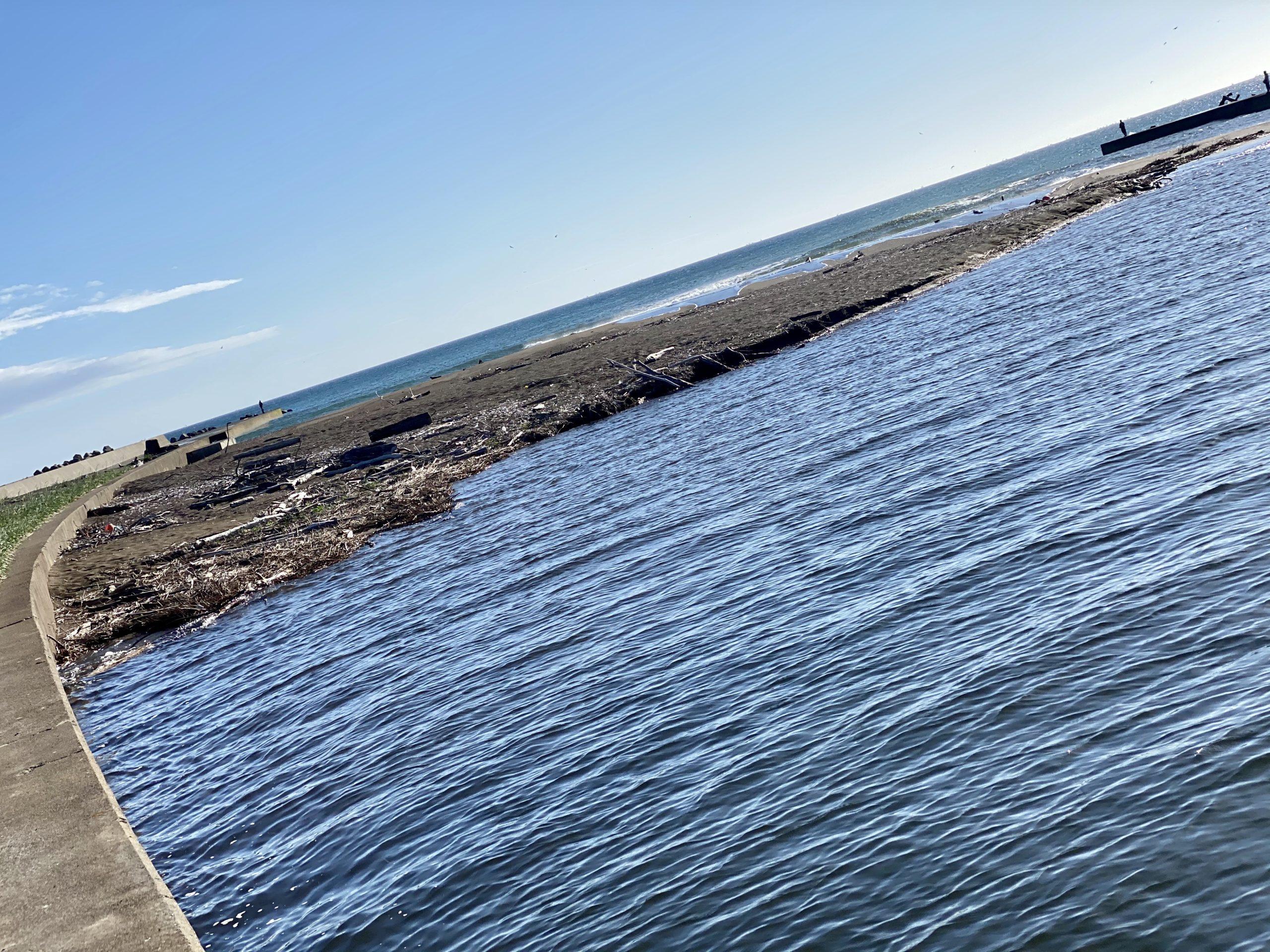 猿払川河口