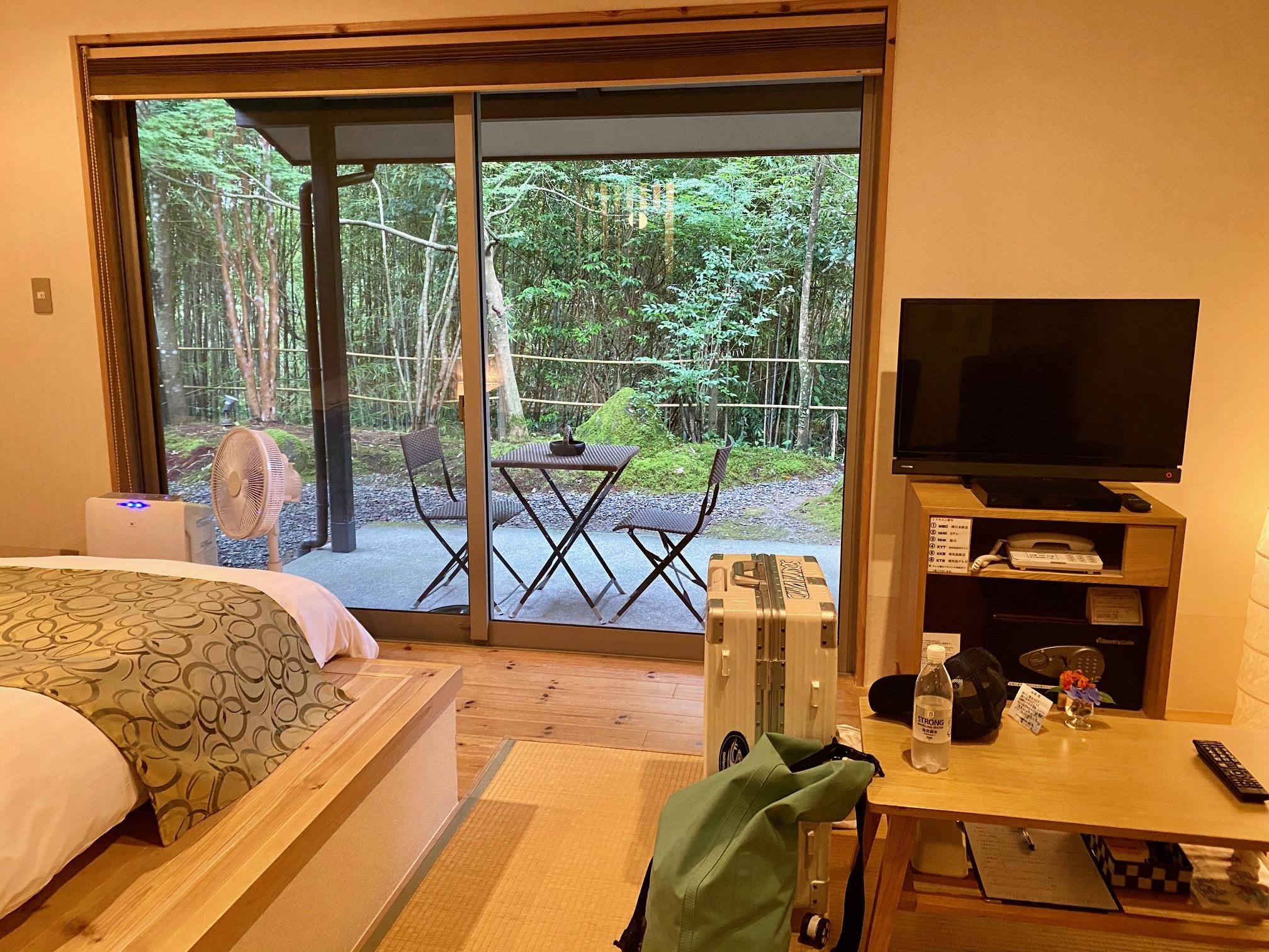 紫尾庵の部屋