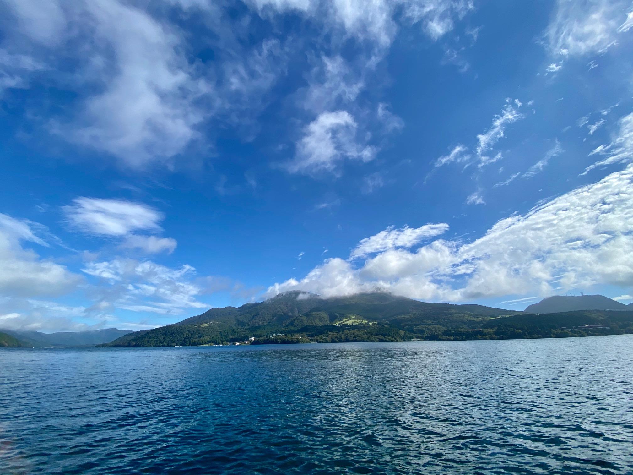 芦ノ湖ボート釣り
