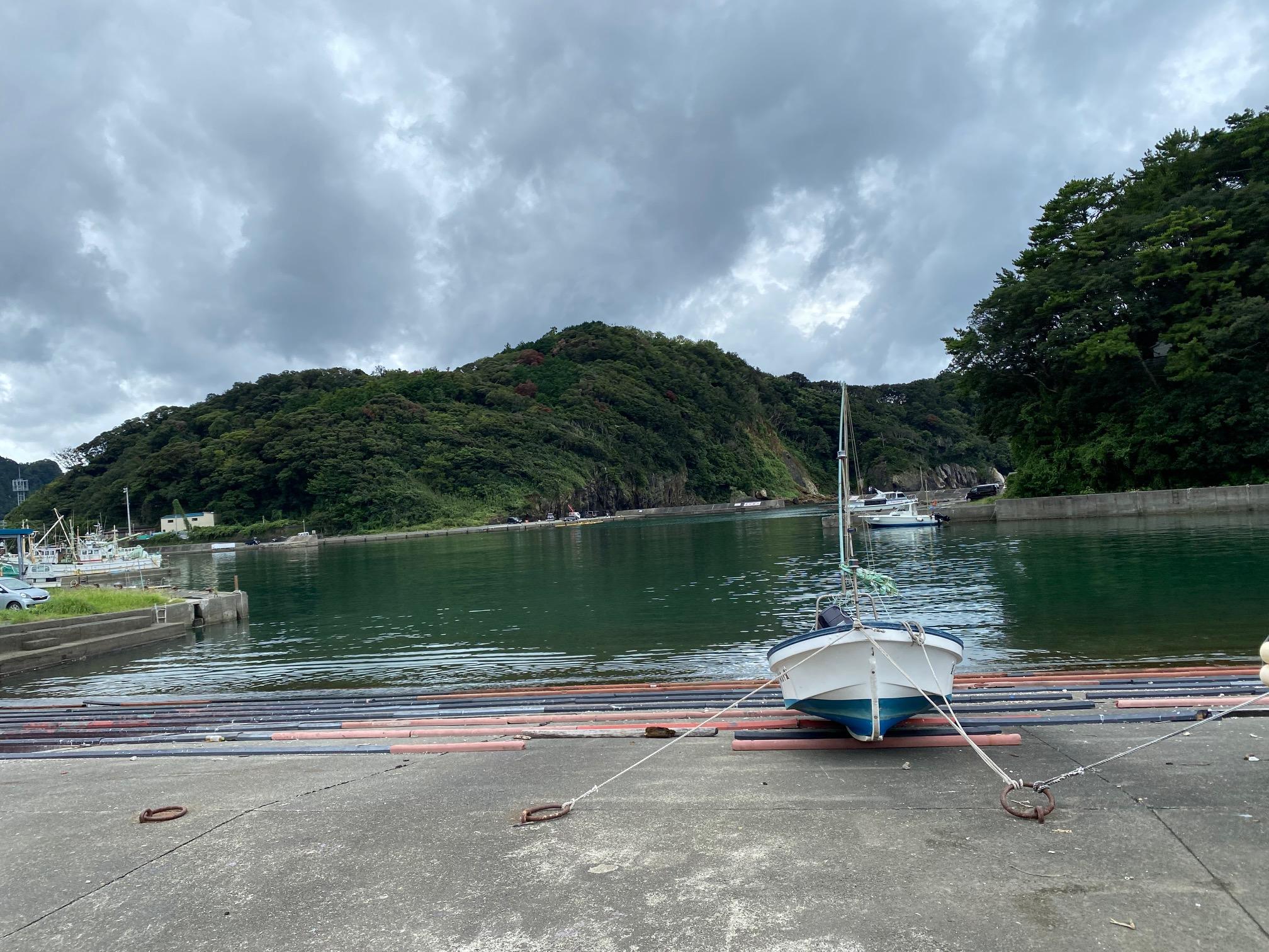 仁科漁港ポイント