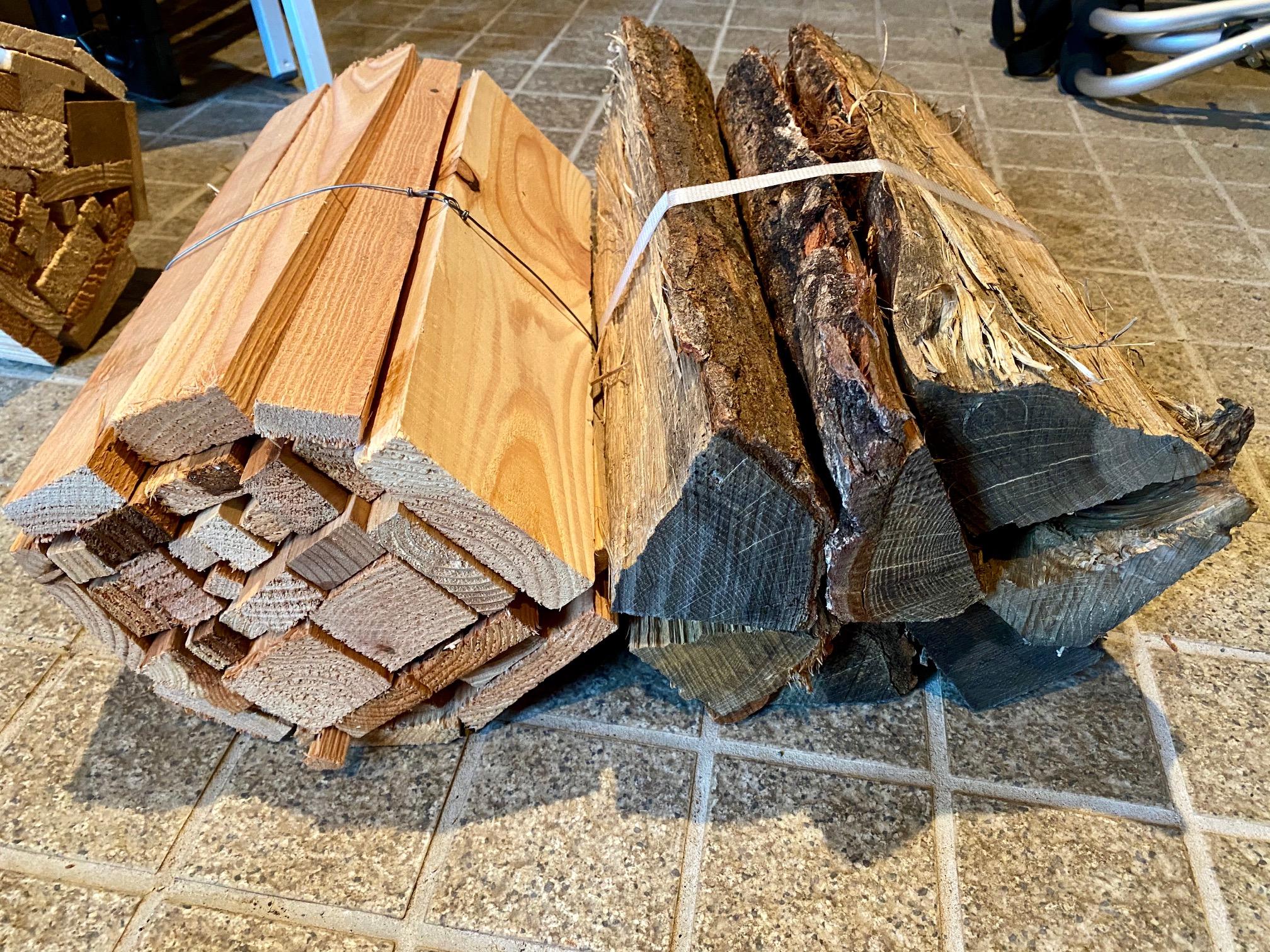 薪はいろいろありますね