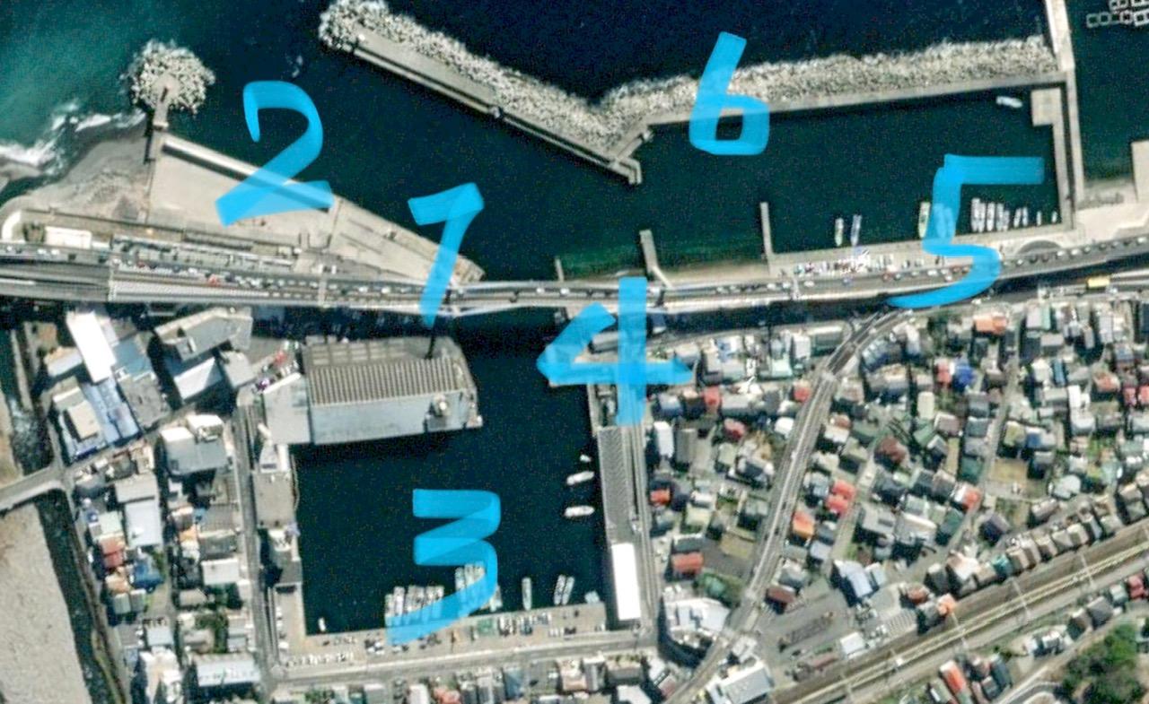 早川港、小田原漁港
