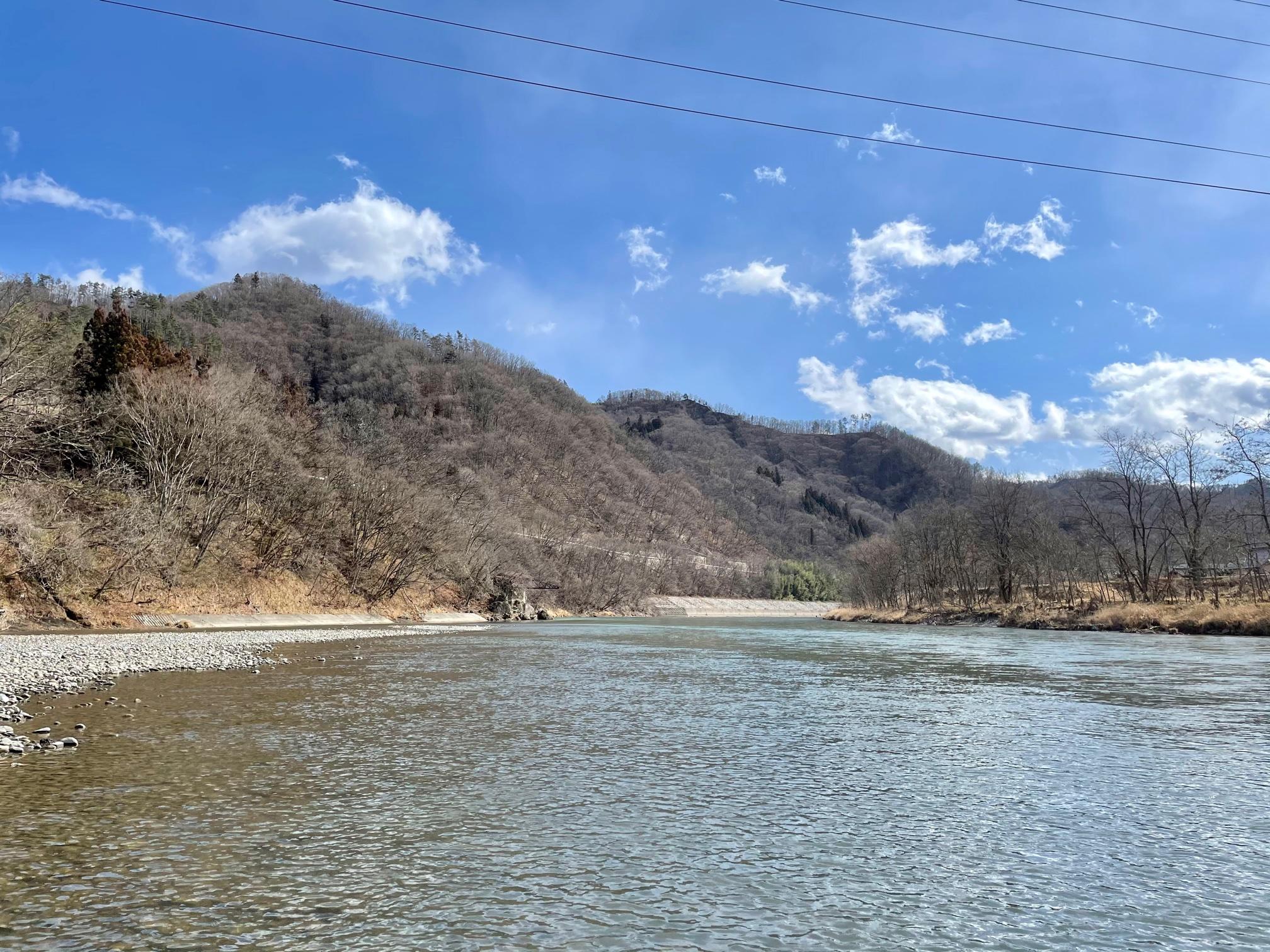 犀川解禁 川の様子
