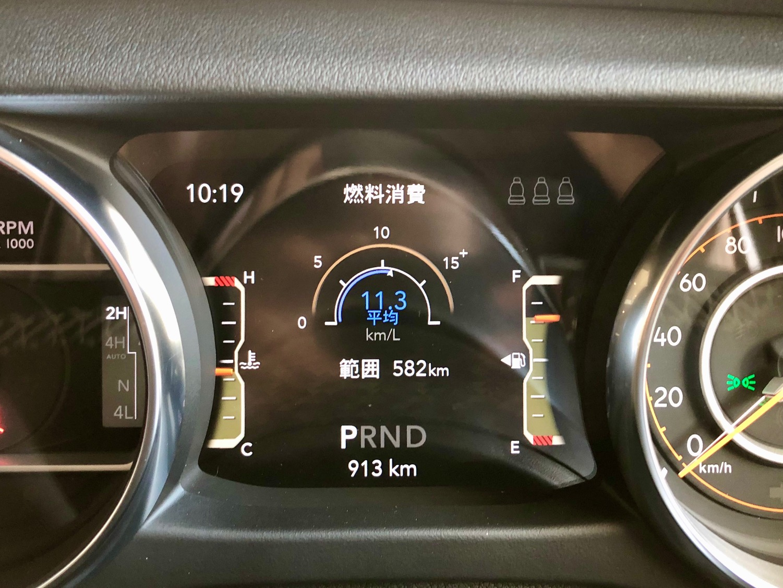 ジープラングラー燃費