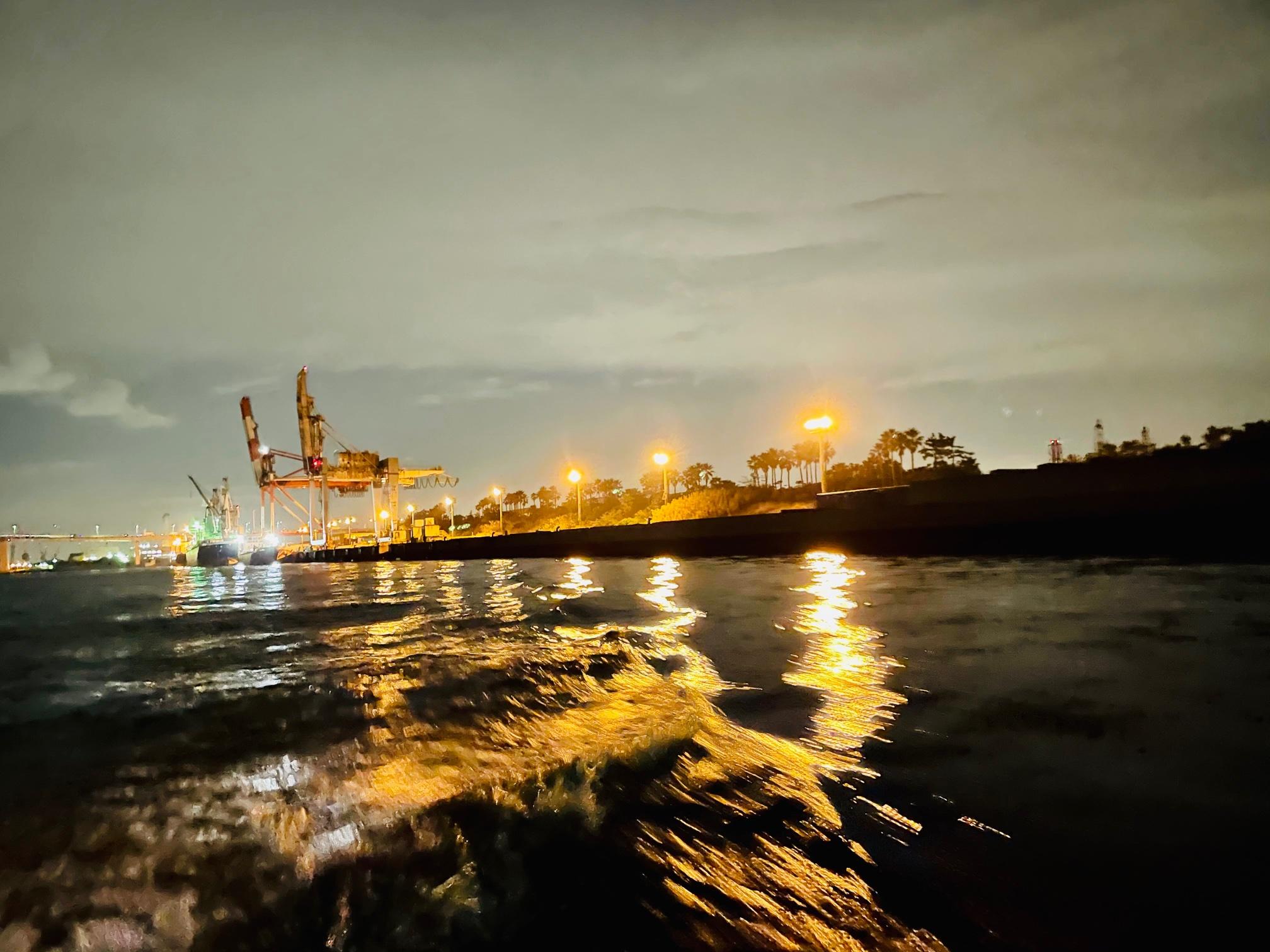 横浜ボートメバルは夜景がキレイ