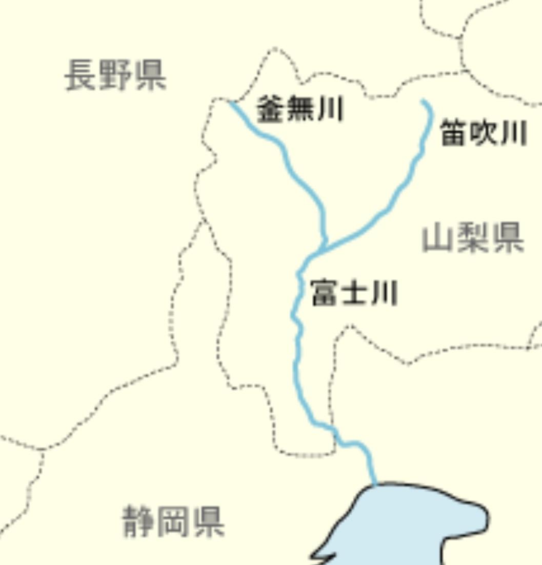富士川水系