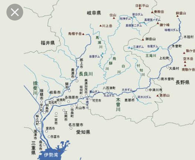 木曽川水系