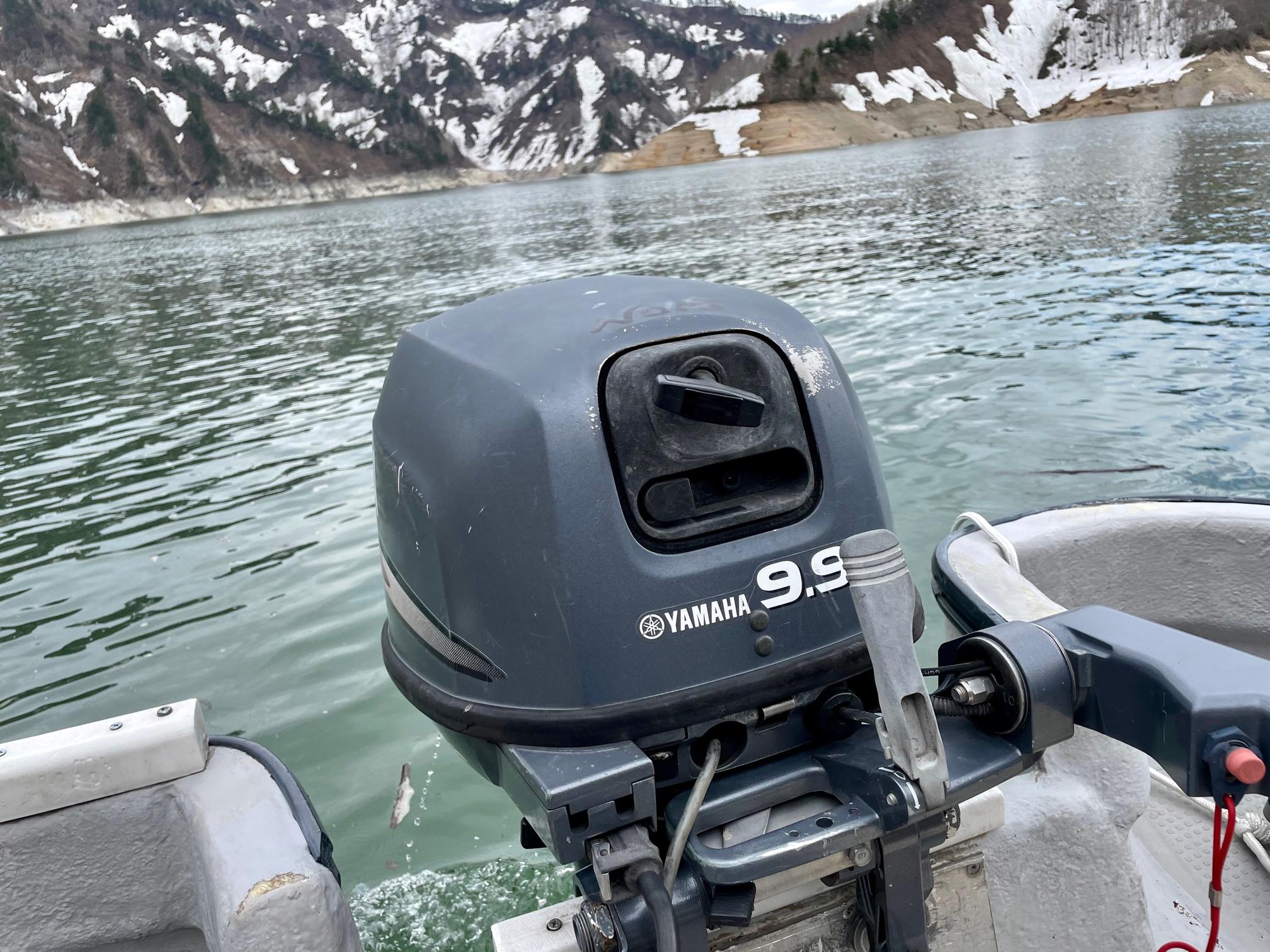 銀山湖ボート