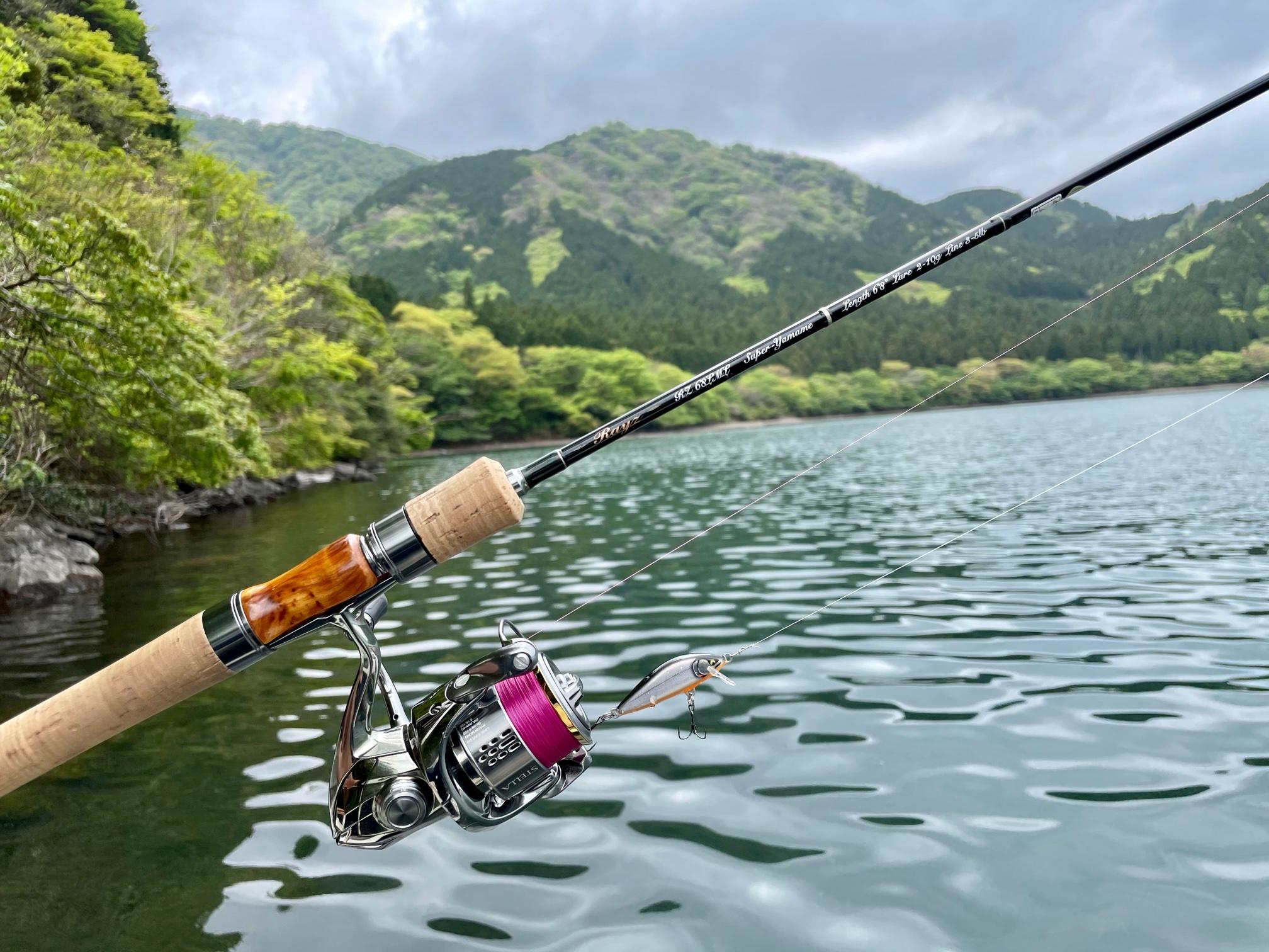 芦ノ湖ボートのタックル