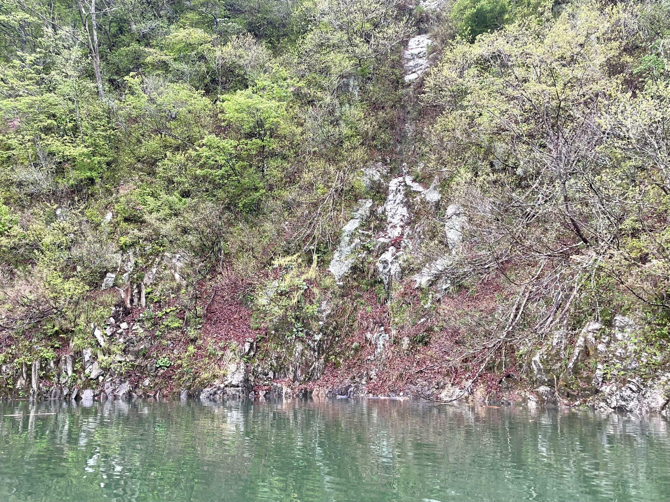 銀山湖のポイント