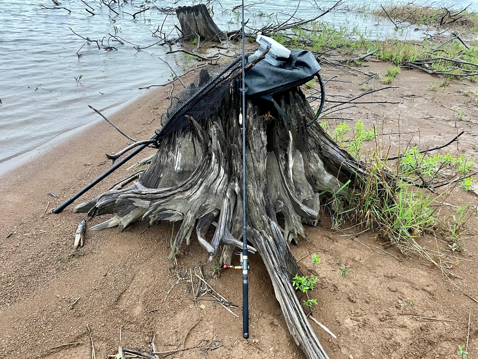 朱鞠内湖イトウ釣り装備