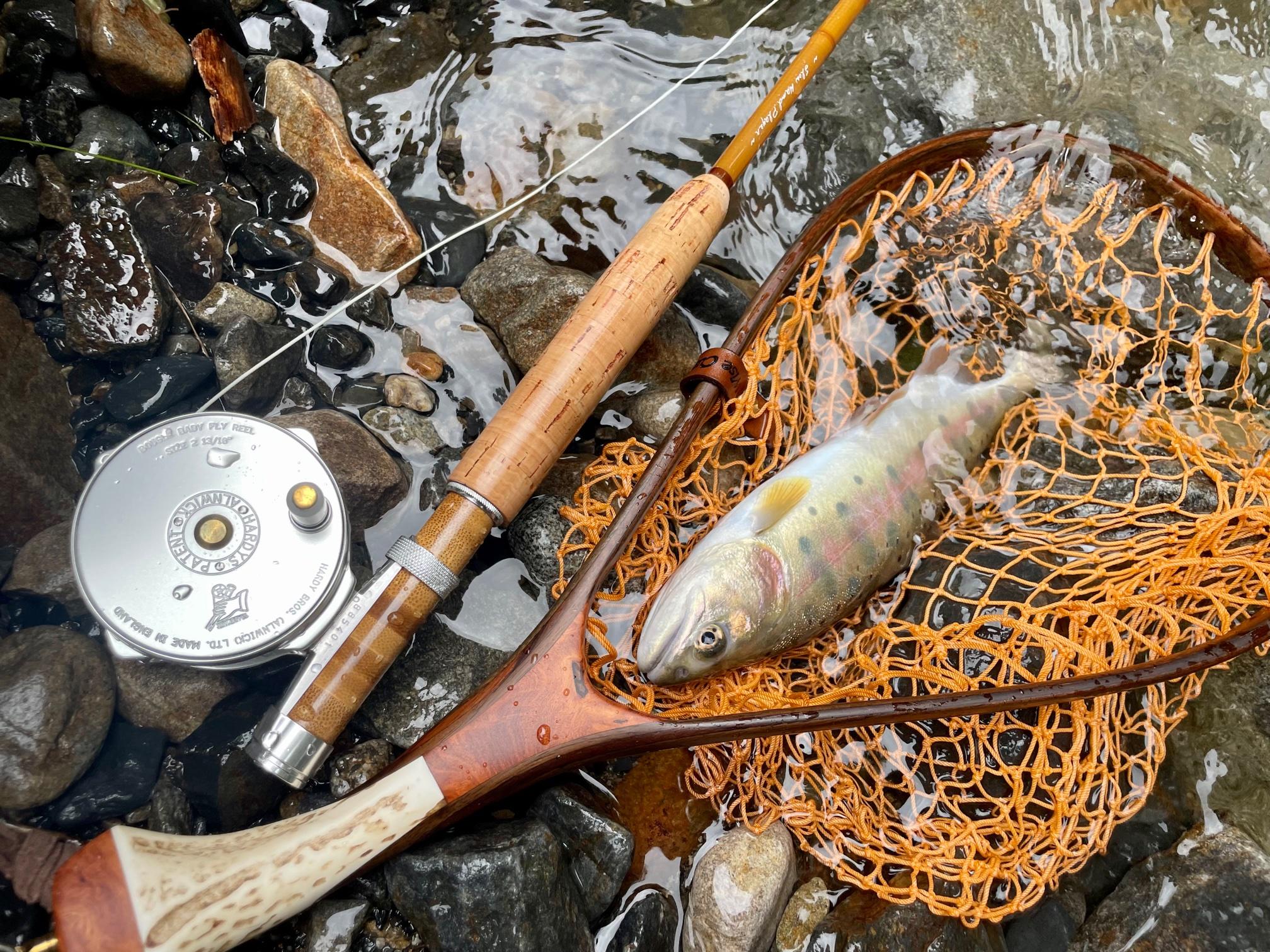 渓流釣りフライタックル